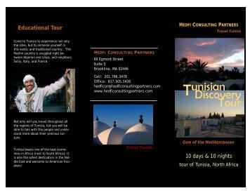 Tunisian Discovery Tour