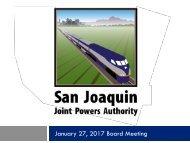 January 27 2017 Board Meeting