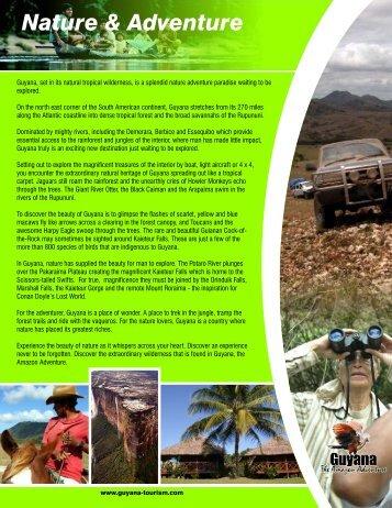 Guyana Nature & Adventure