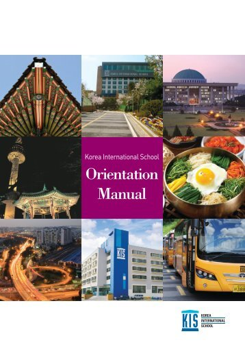 KIS Orientation Manual