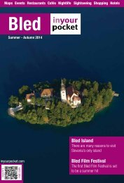 Bled in Your Pocket Summer - Autumn 2014