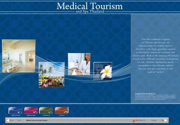 Medical Tourism and Spa in Thailand