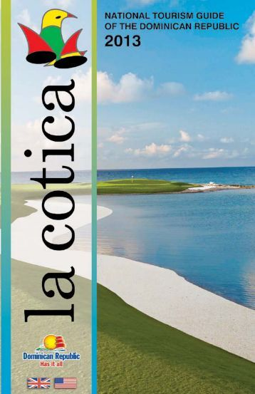 La Cotica National Tourism Guide 2013
