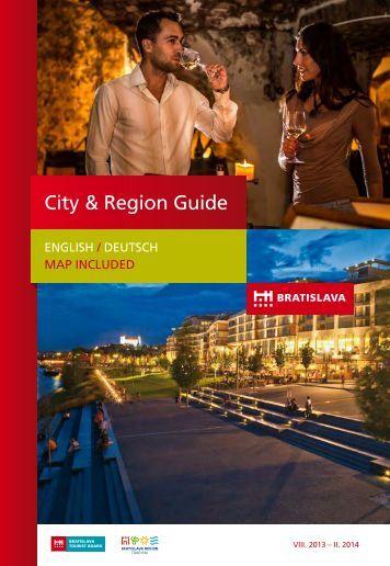 Bratislava City and Region Guide 2013