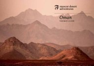 Oman Tours and Trips