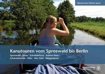 Kanutouren vom Spreewald bis Berlin