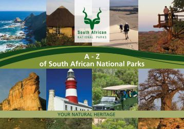 A-Z of South African National Parks