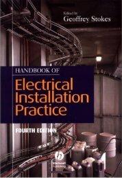 Handbook of Electrical Installation Practice - BeKnowledge