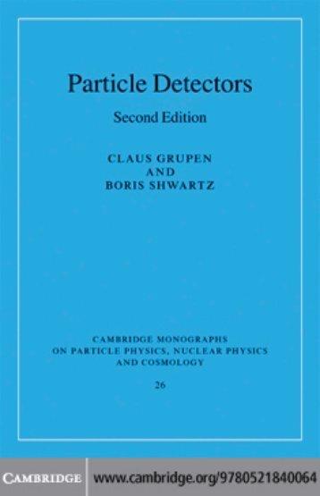 Particle Detectors - Grupen & Shwartz - Cern