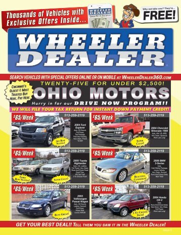 Wheeler Dealer Issue 05, 2017