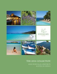 Hand-Picked Villas, Apartments & Hotels in Corsica