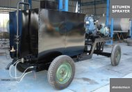 small bitumen sprayer for sale
