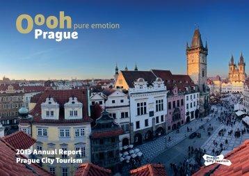 Prague City Tourism Annual Report 2013