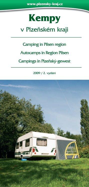 Camping in Pilsen region