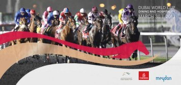 Dubai World Cup Hospitality Brochure