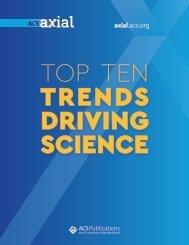 TOP TEN TRENDS DRIVING SCIENCE