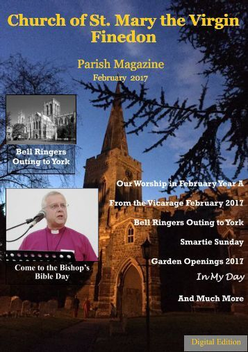 St. Mary's February 2017 Parish Magazine