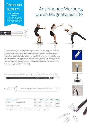 Bleistift-Magnet