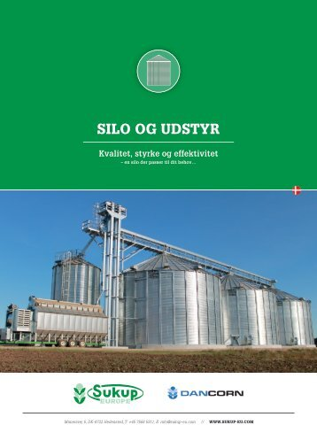SukupEurope_Silo og udstyr