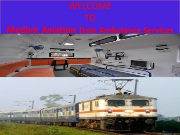 Train Ambulance Services in Delhi and Allahabad