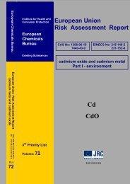 European Union Risk Assessment Report - JRC  Publications ...