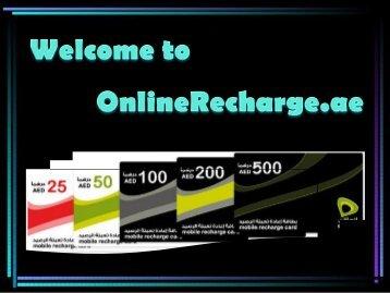 Easy Du Recharge