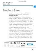 Wiring Manual | 2011 - Moeller - Page 5