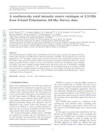 arXiv:1701.08887v1