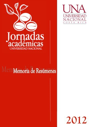 Memoria de resúmenes Jornadas Académicas 2012