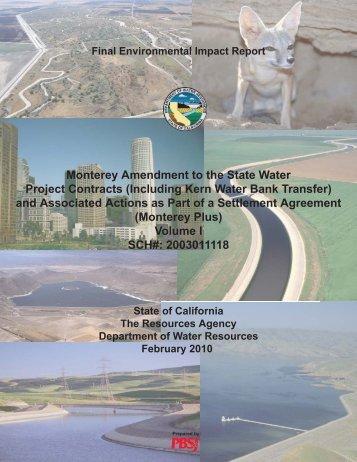Final Environmental Impact Report (FEIR) - California Department of ...