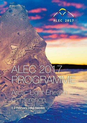 ALEC 2017 PROGRAMME