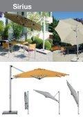 Shademaker Ampelschirme und Sonnenschirm Katalog - Seite 2