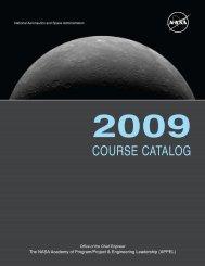 COURSE CATALOG - NASA