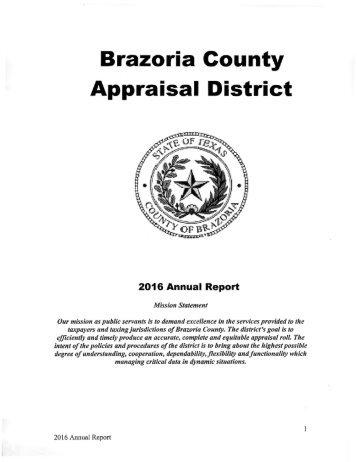 Brazoria County Appraisal District