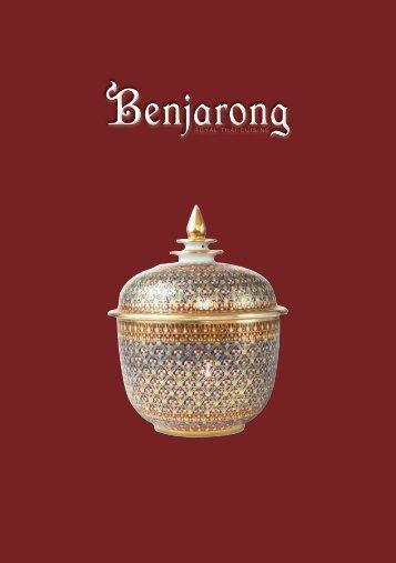 Dusit Abu Dhabi-Benjarong-Drinks Menu