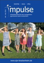 Impulse Okt. bis Dez. 2016