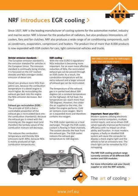 NRF - EGR cooler article (January 2017)