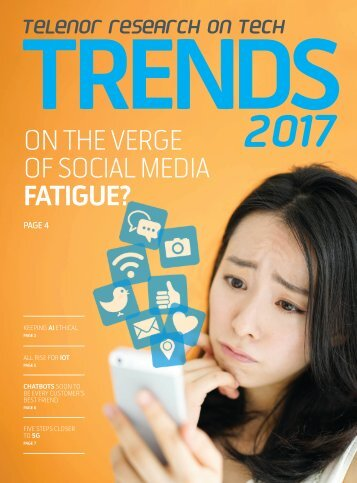 ON THE VERGE OF SOCIAL MEDIA FATIGUE?