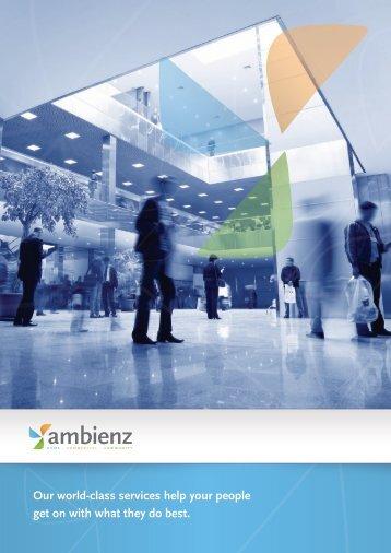 Ambienz Corporate Profile - Brochure