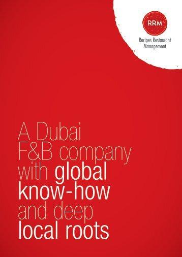 RRM Corporate Profile - Brochure