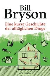 Bryson, Bill - Eine kurze Geschichte der alltäglichen Dinge
