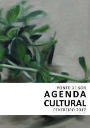 Agenda Cultural fevereiro 2017