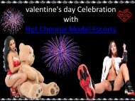 Valentine's Day Fun with Chennai Model
