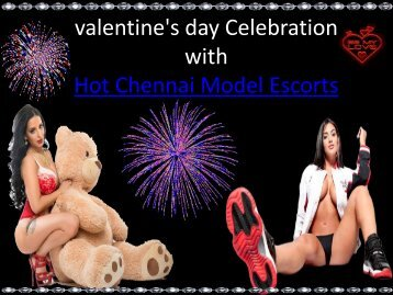 Valentine's Day Fun with Chennai Model