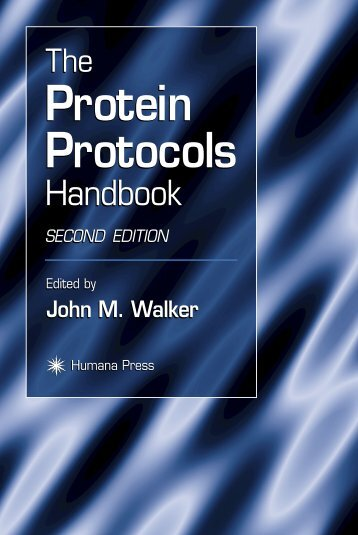 Protein Protocols Protein Protocols