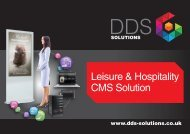 Leisure & Hospitality CMS Solution