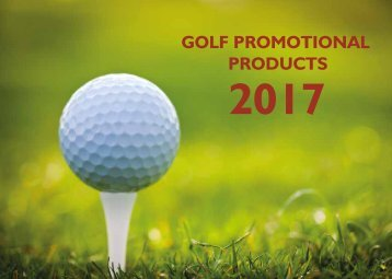 Golf Promotional Products 2017
