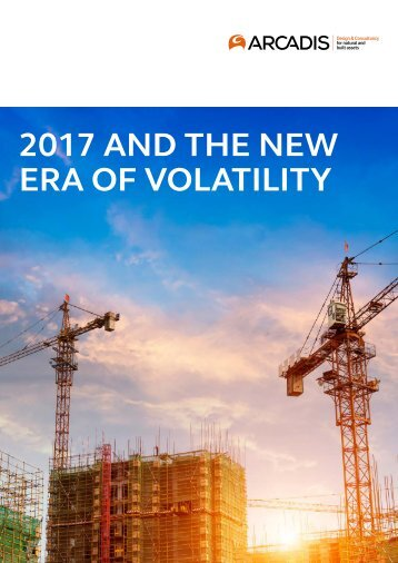 2017 AND THE NEW ERA OF VOLATILITY