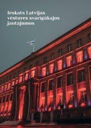 Ieskats Latvijas vēstures svarīgākajos jautājumos