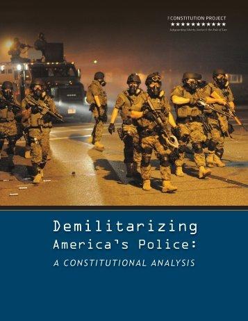 Demilitarizing
